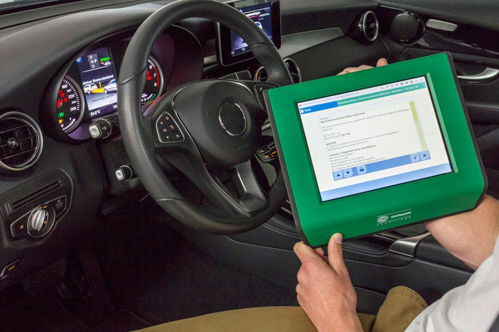Το mega macs επιτρέπει τη διάγνωση σε οχήματα Mercedes-Benz με προστασία πρόσβασης
